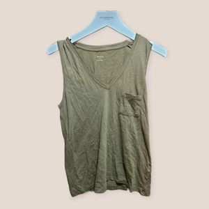 Madewell Copper Tank Top